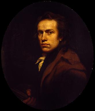 John Opie - Self portrait (1789)