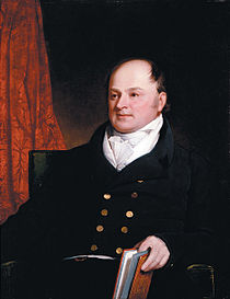 Secretary of State John Quincy Adams, author of the Monroe Doctrine.