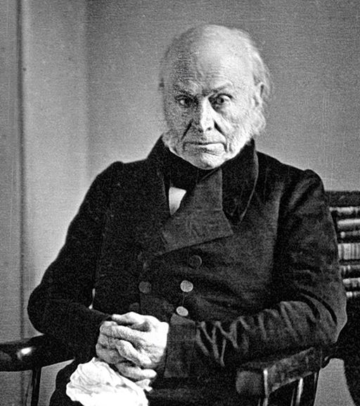 John Quincy Adams - copy of 1843 Philip Haas Daguerreotype-1