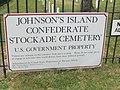 Johnson island confederate cemetery marker.jpg