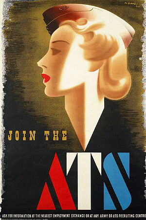 Abram Games - Join the ATS (1941) Art.IWMPST2832