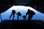 Joining to jump, Force Recon Marines perform parachute training with SEALs, pararescuemen DVIDS360437.jpg