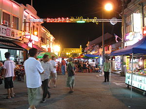 Jonker Walk - Night market along Jonker Walk