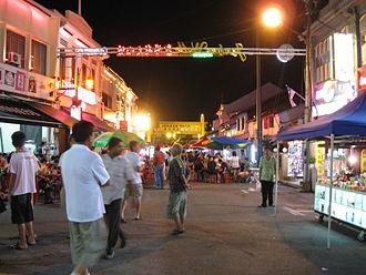 Jonker Walk - Night market along Jonker Walk