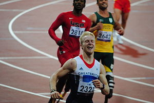 Great Britain at the 2012 Summer Paralympics - Jonnie Peacock in the T44 100 metres