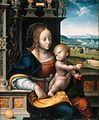 Joos van Cleve - Kirschenmadonna (Gemäldegalerie, Berlin).jpg
