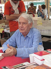Jorge Semprún at a book festival in Montpellier, 23 May 2009.