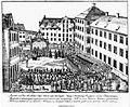 Joseph Bayer Klosterhof nach Heilig-Blut-Prozession 1840s.jpg