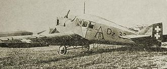 Free City of Danzig Police - Junkers F13 with Free City markings