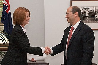 Julia Gillard - Gillard meets with US Ambassador Jeff Bleich on 26 November 2009