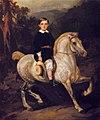 Juliusz Kossak - Portret syna generała Hauke 1859.jpg