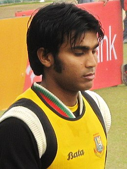 Junaid Siddique training, 23 January, 2009, Dhaka SBNS.jpg