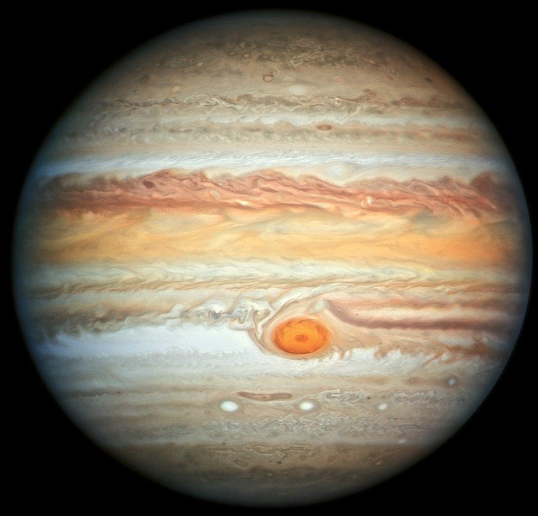 Tampilan warna Jupiter yang diambil pada tahun 2019.