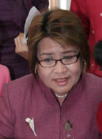 Koalisyon ng Daang Matuwid - Image: Justice Secretary Leila De Lima