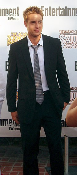 Justin Hartley at 2009 Saturn Awards.jpg