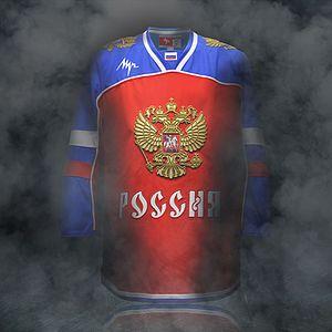 Вы можете купить товар свитер хоккейный хк цска 15-16 луч реплика. Реплика игрового хоккейного свитера. Логотип кхл вышит. 100 % полиэстер.