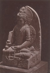 KITLV 87681 - Isidore van Kinsbergen - Hindu-Javanese sculpture coming from the Dijeng plateau - Before 1900.tif