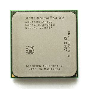 Athlon 64 X2 - Image: KL AMD Athlon 64 X2 Brisbane
