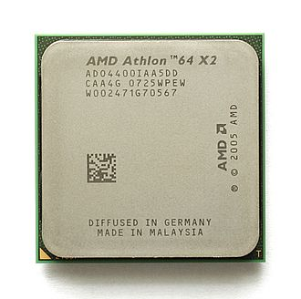 Athlon 64 X2 - Image: KL AMD Athlon 64 X2 Brisbane