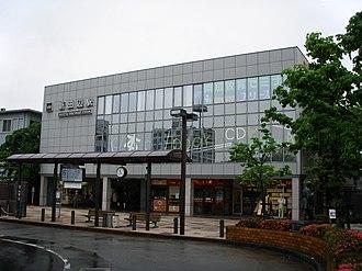 Shin-Tanabe Station - Shin-Tanabe Station, May 2008