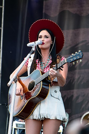 Musgraves performing at the Pilgrimage Music Festival in September 2016 Kacey Musgraves 2016.jpg