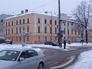 Kassisaba - Image: Kaitsepolitsei hoone