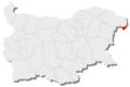 Kaliakra location in Bulgaria.png