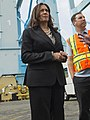 Kamala Harris tours the Port of Los Angeles on May 31 38016236116 4a4913739d h (cropped2).jpg