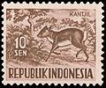 Kantjil, 10sen (1953).jpg