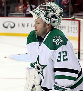 Kari Lehtonen Finnish ice hockey player