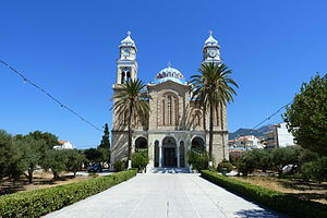 Karlovasi - Church Agios Nikolaos