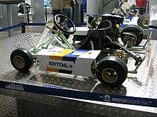 Il primo kart di Alonso