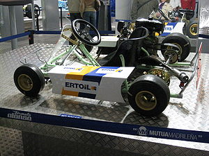Fernando Alonso - Alonso's first kart