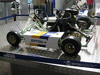 Fernando Alonso - Alonso's first kart