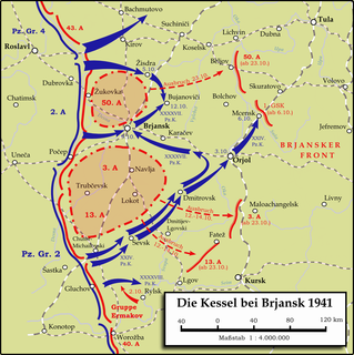 Battle of Bryansk (1941) 2–21 October 1941