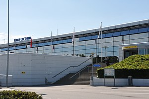 Midtjyllands Airport - Image: Karup Airport 20130618