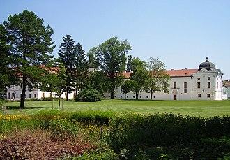 Gödöllő Palace - Garden of the palace
