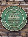 Kate Greenaway 1846-1901 children's book illustrator and artist lived here 1852 - 1873.jpg