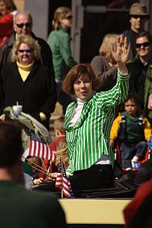 Kathleen Falk in the 2009 St. Patrick's Day Parade.jpg