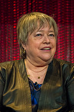 Photo of actress Kathy Bates at the 2014 PaleyFest.