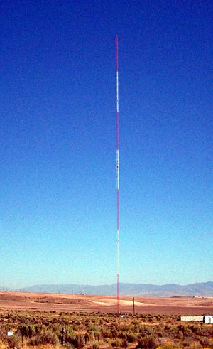 Copperton, Utah - The tower for KDYL 1060 AM located near Copperton, Utah.