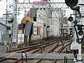 Keihan Korien Station platform - panoramio (7).jpg