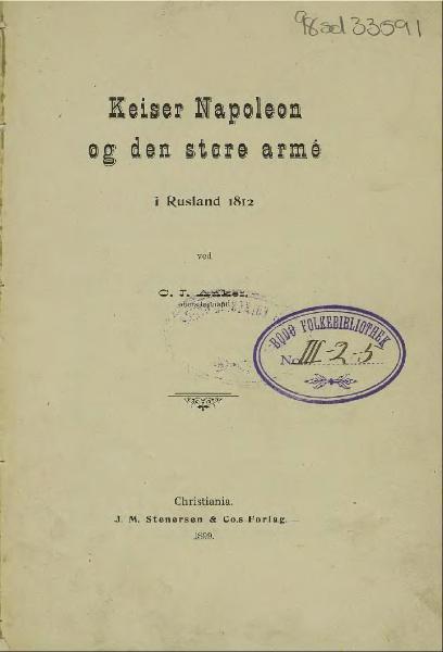 File:Keiser Napoleon og den store armé.djvu