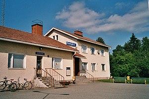 Kemijärvi railway station - Image: Kemijärvi railway station