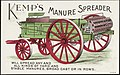 Kemp's Manure Spreader will spread any and all kinds of yard and stable manures. Broad cast or in rows. (front) - 8962097196.jpg