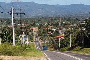 Keningau - A road in Keningau