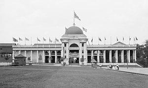 Kennywood - Wonderland building, c. 1906
