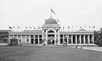 Kennywood - Wonderland building, c. 1906
