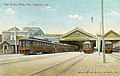 Key Route pier and trains 1907 postcard.jpg