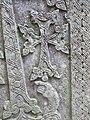 Khachqar, detale, Chorut church, Arzakan 04.JPG